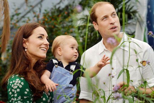 Kate, George & William