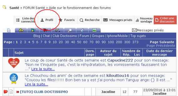 profil forum