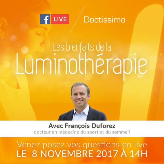 FB Live - Les bienfaits de la luminothérapie