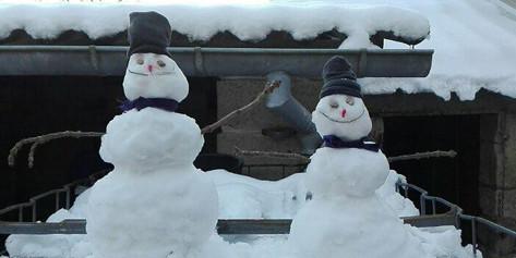 Bonhomme de neige de Nelween1