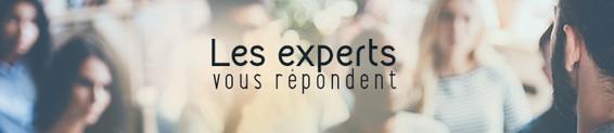 Les experts vous répondent !
