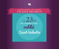 Saint-Valentin : un jour que l'on peut oublier