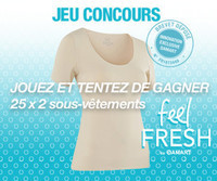 [Jeu concours] Feel fresh by Damart