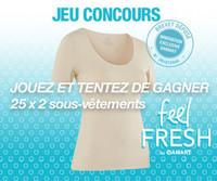 [Jeu concours] Feel fresh by Damart