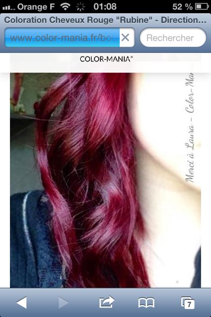 image 13 - Coloration Violine Rouge