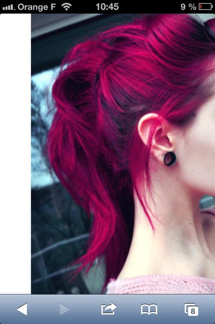 image 15 - Coloration Violine Rouge
