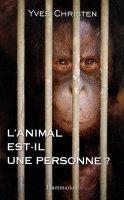 l'animal est-il une personne de Yves Christen