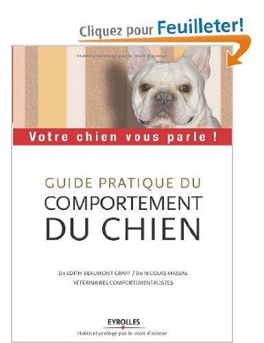 guide pratique du comportement du chien de Beaumont Graff et Massal