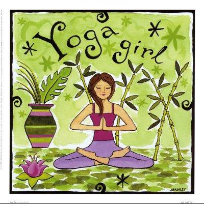 AB10877~Yoga-Girl-Posters