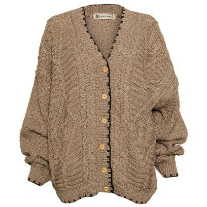 Gilet_loose_grosse_maille_taupe