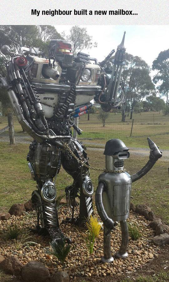 folie robotique