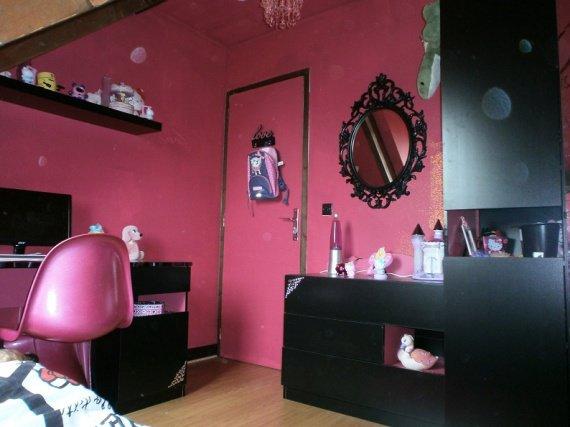 Great Suspension Chambre Fille Castorama Chambre Fille Rose Et Noire Et  Chambre Cars Chambre De Bb With Chambre Rose Et Noir Baroque.