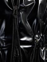 Vinyl-effect Hooded Parka, black - Sportmax