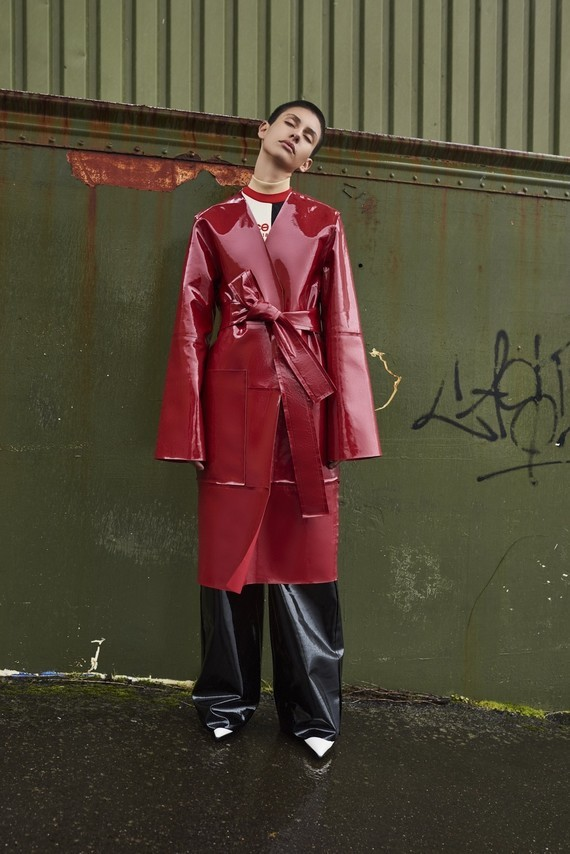 solace-london-safina-leather-coat-red-os1794-3
