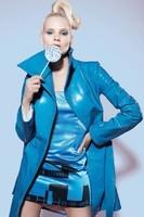 Tatjana-Ostojic-Blue-Leather-Coat