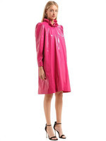 MARINA%20HOERMANSEDER%20Women%20LACQUER%20COAT%20Concealed%20front%20snap%20button%20closure%20Ruffl