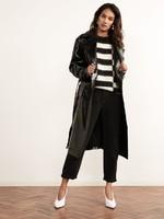 Justine-Black-Vinyl-Trench-Coat-Front-2