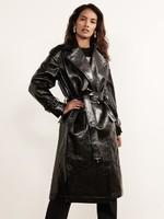 Justine_Black_Vinyl_Trench_Coat_Front_Crop