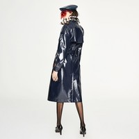 JAZZEVAR-2018-New-Autumn-High-Street-Women-s-Waterproof-TPU-Long-The-Westminster-Heritage-Trench-Coa
