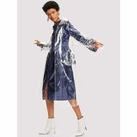 sequin-detail-contrast-stitch-transparent-raincoat-belt-belted-casual-coat-collar-jackets-coats-shei