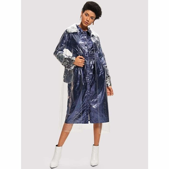 sequin-detail-contrast-stitch-transparent-raincoat-belt-belted-casual-coat-collar-jackets-coats-shei
