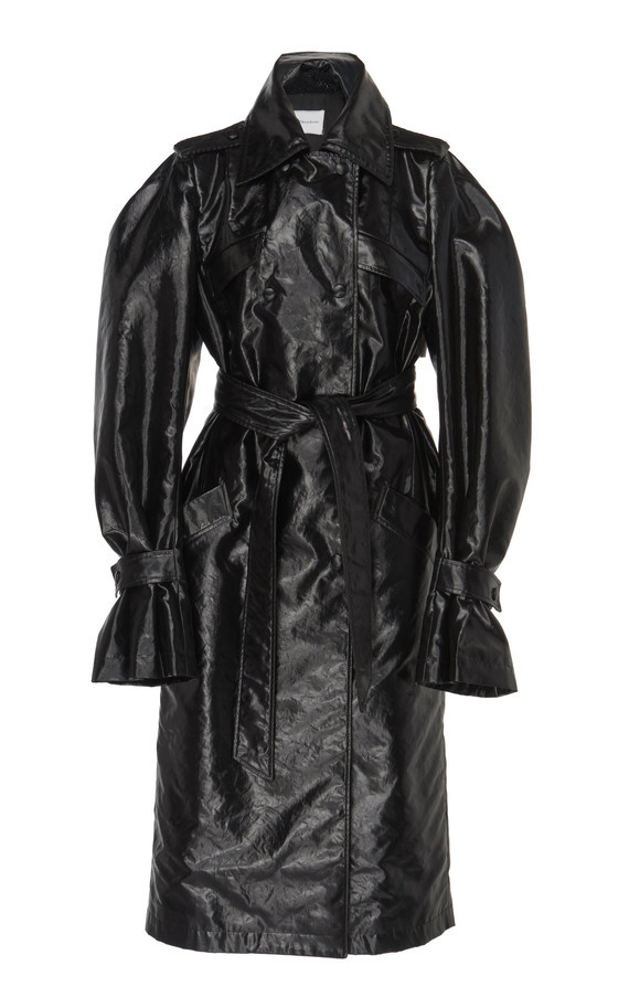 large_olivier-theyskens-black-teoni-double-breasted-faux-leather-trench-coat