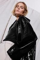 Boutique-Black-Coats-Vinyl-Raincoat-1