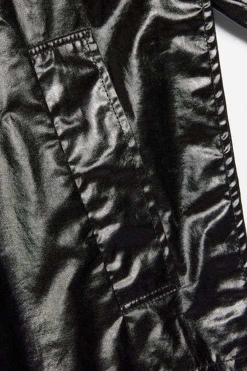 Boutique-Black-Coats-Vinyl-Raincoat-4
