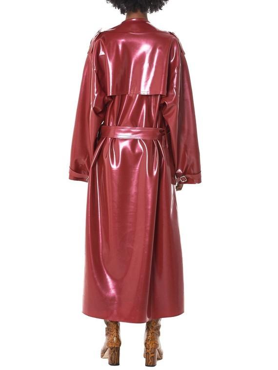 arthur-avellano-RED-Latex-Trench-Coat