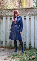 blue-vinyl-trench-coat-suzanne-carillo-style-for-women-over-50
