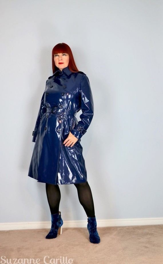 blue-vinyl-trench-coat-suzanne-carillo-style