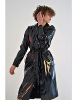 handmade-classical-sexy-knee-length-black-latex-long-women-coat-rain-jacket-trendy-