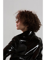 handmade-classical-sexy-knee-length-black-latex-long-women-coat-rain-jacket-trendy-4