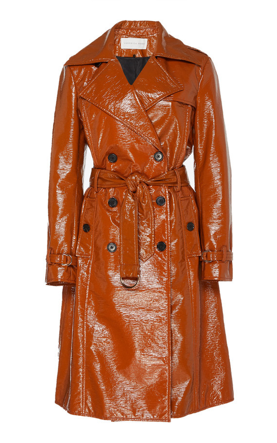 large_veronica-beard-brown-finnick-faux-patent-leather-trench