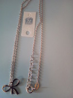 COLLIER ARGENT NOEUD TAILLE 42 CM REF 301314 (2)