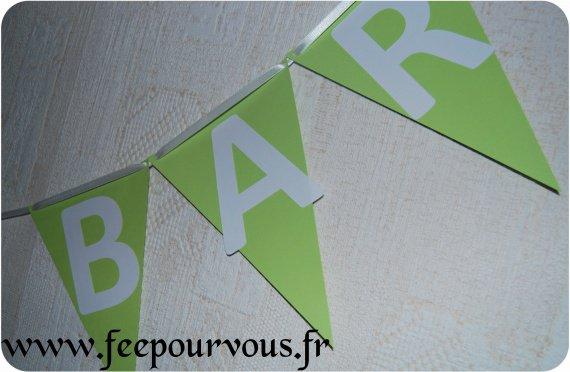 Banderole Candy Bar