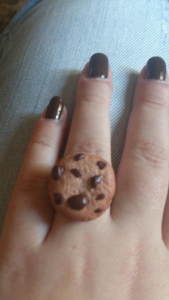 Cookie mis en bague
