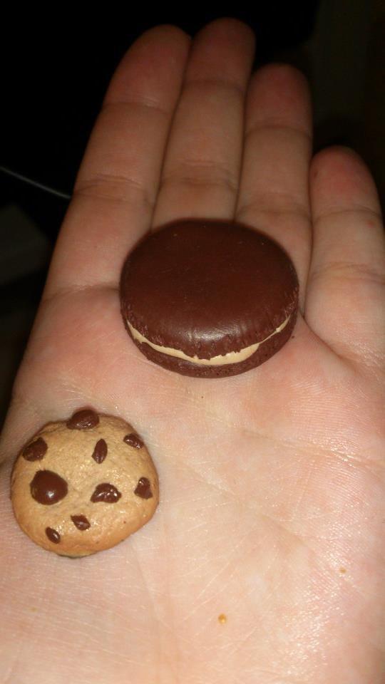 Cookie et macaron