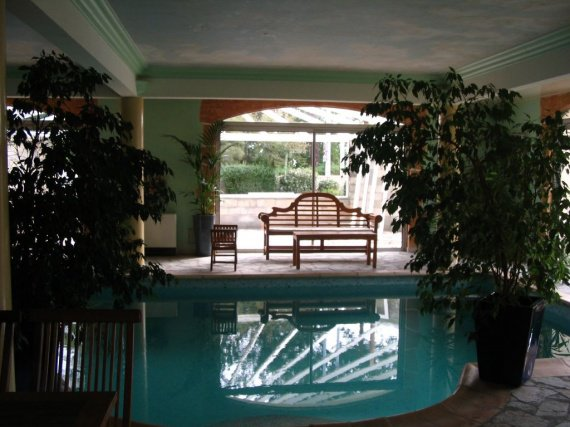 La salle de la piscine notre mariage restaurant avant for Club piscine lasalle
