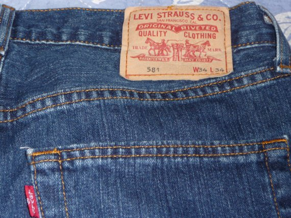 j'ean's levis W34 L34 10 EUROS