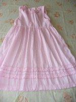 robe rose  6 ans : 4 euros