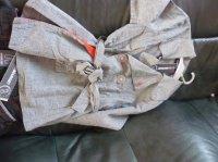 veste assortie à la jupe
