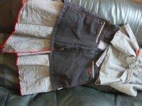 jupe jean bourget edition limité été 2009 8 ans