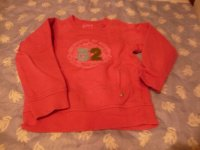 pull rose taille 6/7 ans 2 euros