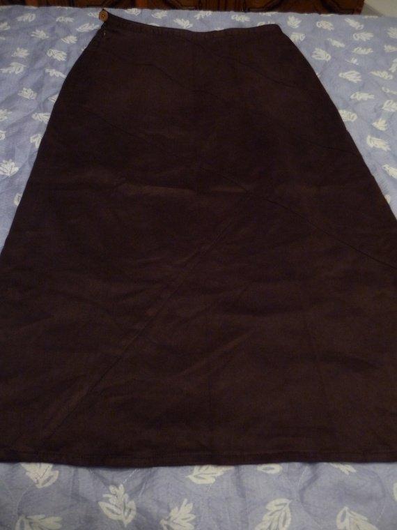 jupe marron taille 40 :5 euros