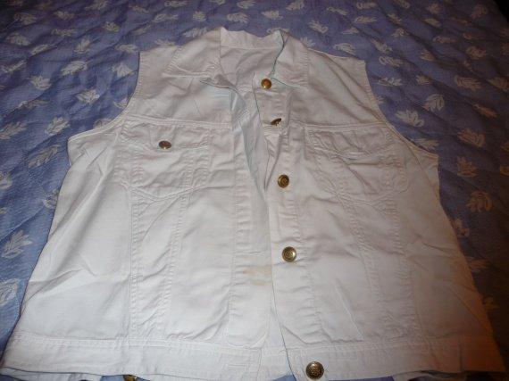 veste sans manche taché 1 euros 38/40