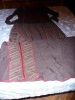 originale robe  longue t44 cache cache 12 euros
