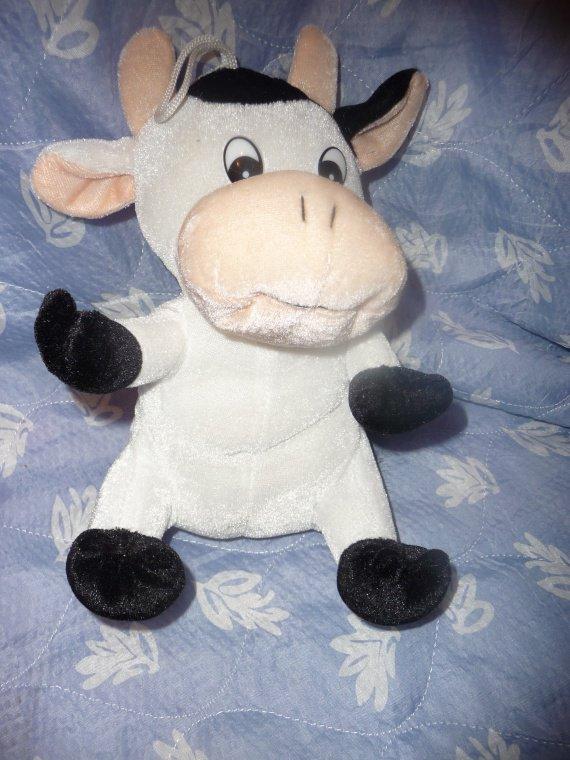 peluche vache 0.50 cts