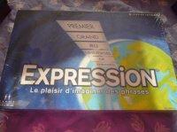 jeu de societé expression sous blister : 10 euros