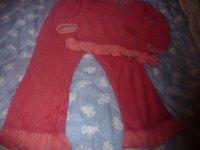 pyjamas sucre d'orge 5 ans hiver : 3 euros